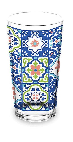 TarHong Talavera Tile 20 oz Jumbo (Set of 4), , large