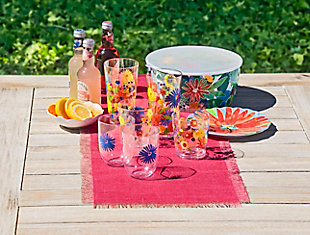 TarHong Midsummer Floral 15 oz DOF (Set of 4), , rollover
