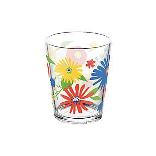 TarHong Midsummer Floral 16 oz Stemless (Set of 4), , large
