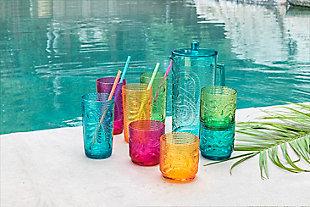 TarHong Tiki Assorted 18 oz DOF Drinkware (Set of 4), , rollover