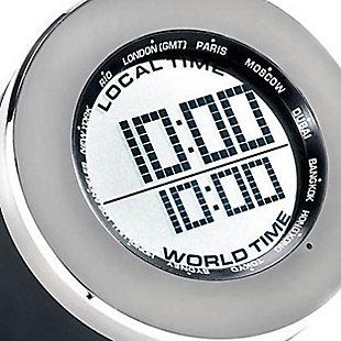 Seth Thomas World Time Multifunction Clock, , large