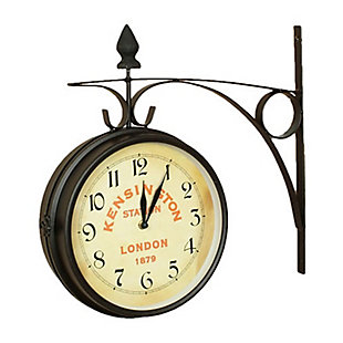 Kensington Station Double Side clock (Large), , large