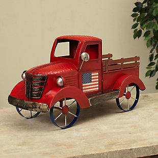 Gerson Metal Antique Americana Truck, , rollover