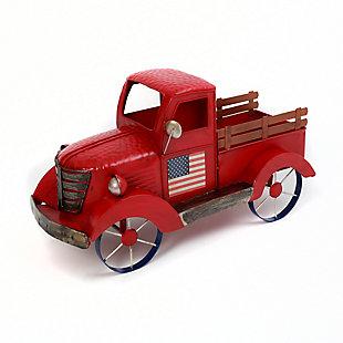 Gerson Metal Antique Americana Truck, , large