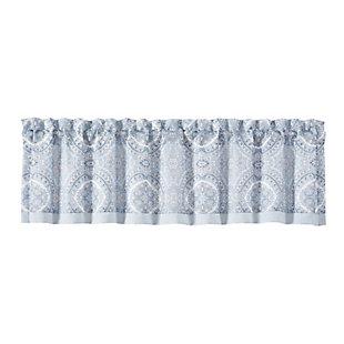J. Queen New York Royal Court Claremont Window Straight Valance, , rollover