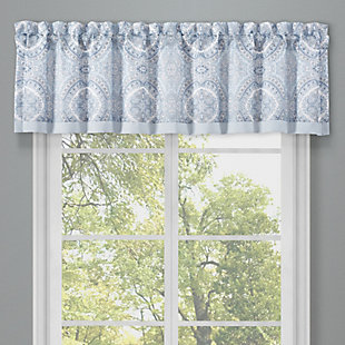 J. Queen New York Royal Court Claremont Window Straight Valance, , large