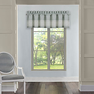 J. Queen New York Patricia Window Straight Valance, , large