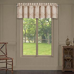 J. Queen New York Five Queens Court Cresmont Window Straight Valance, , large