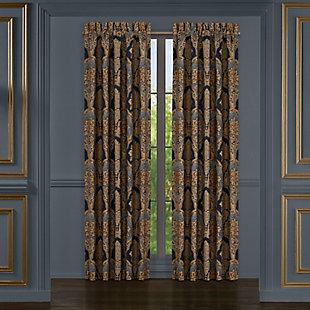 """J. Queen New York Five Queens Court Bristol 84"""" Window Panel Pair, , large"""