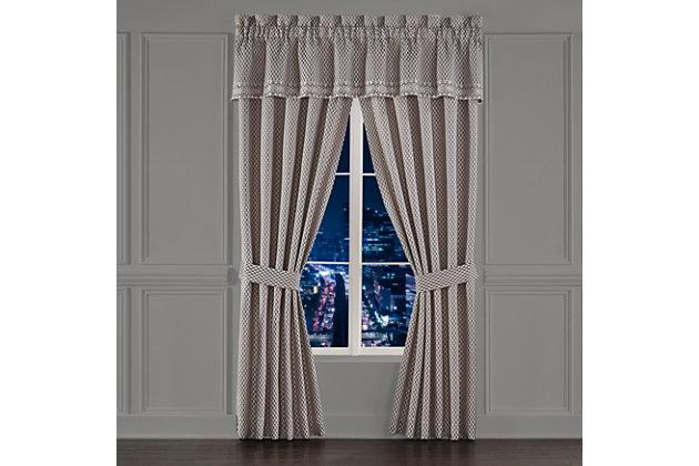 """J. Queen New York Five Queens Court Houston 84"""" Window Panel Pair, , large"""
