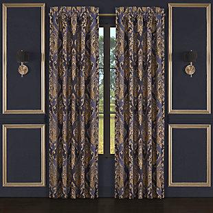 """J. Queen New York Five Queens Court Woodstock 84"""" Window Panel Pair, , large"""