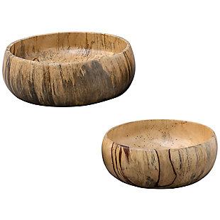 Uttermost Tamarind Wood Bowls (Set of 2), , large