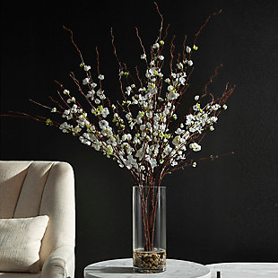 Uttermost Quince Blossoms Silk Centerpiece, , rollover