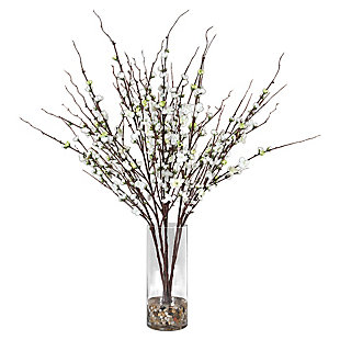 Uttermost Quince Blossoms Silk Centerpiece, , large