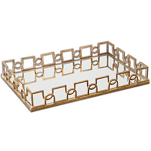 Uttermost Nicoline Mirrored Tray, , large
