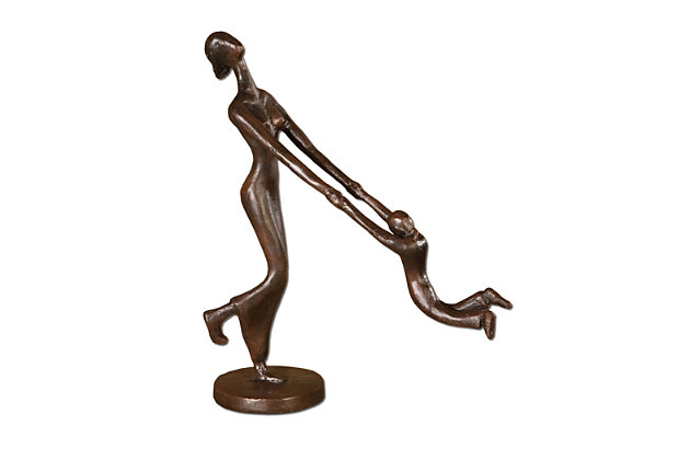 Uttermost At Play Mother and Child Sculpture, , large