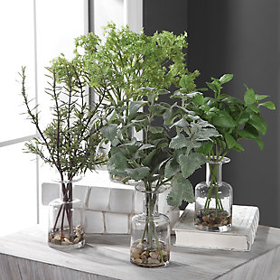 Uttermost Ceci Kitchen Herbs (Set of 4), , rollover