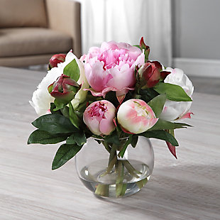 Uttermost Blaire Peony Bouquet, , rollover