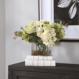 Uttermost Cecily Hydrangea Bouquet, , rollover