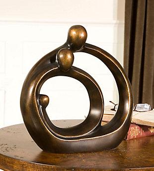 Uttermost Family Circles Bronze Figurine, , rollover