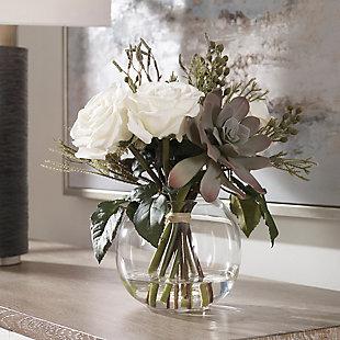 Uttermost Belmonte Floral Bouquet and Vase, , rollover
