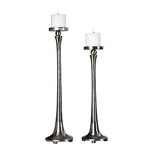 Uttermost Aliso Cast Iron Candleholders (Set of 2), , large