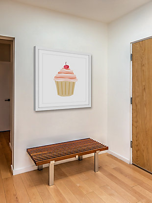 Home Accents Cupcake Cherry Framed Painting Print, , rollover