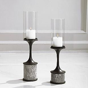 Uttermost Deane Marble Candleholders (Set of 2), , rollover