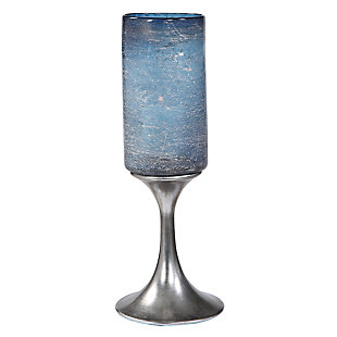 Uttermost Gallah Blown Glass Candleholder, , large