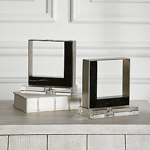 Uttermost Tilman Modern Marble Bookends (Set of 2), , rollover