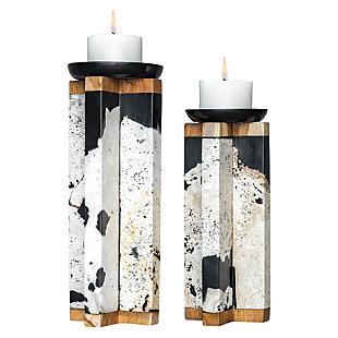 Uttermost Illini Stone Candleholders (Set of 2), , large