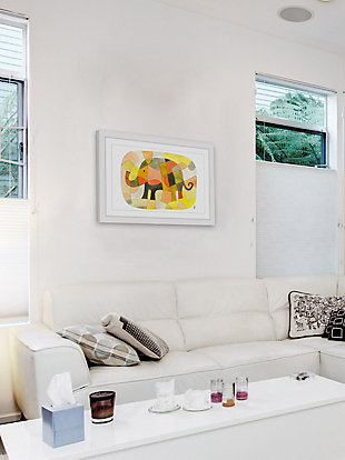 Home Accents Elephant Colors Framed Painting Print, , large