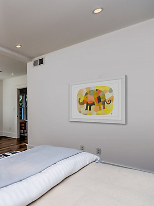 Home Accents Elephant Colors Framed Painting Print, , rollover