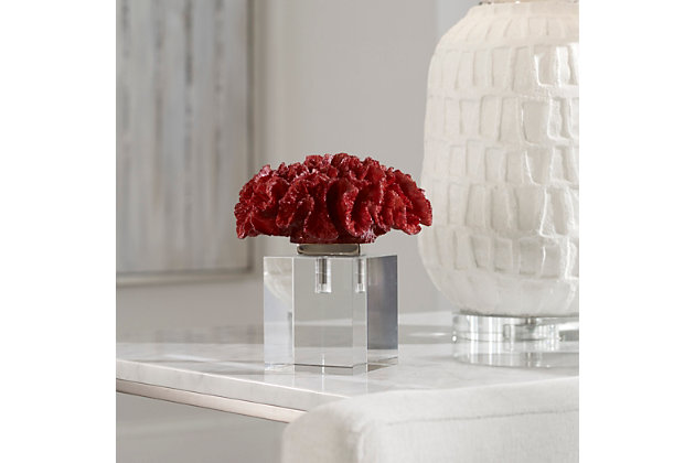 Uttermost Red Coral Cluster, , large