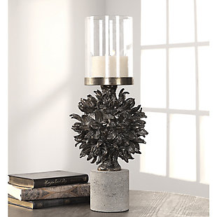 Uttermost Autograph Tree Antique Bronze Candleholder, , rollover