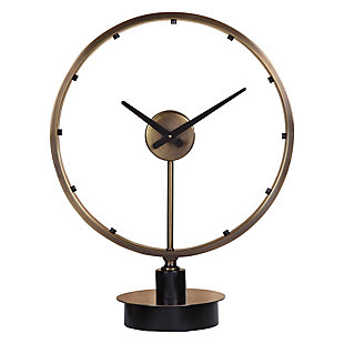 Uttermost Davy Modern Table Clock, , large