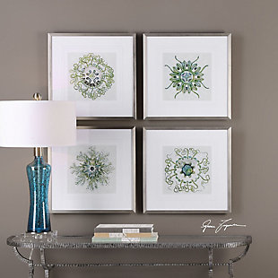 Uttermost Organic Symbols Print Art Set of 4, , rollover