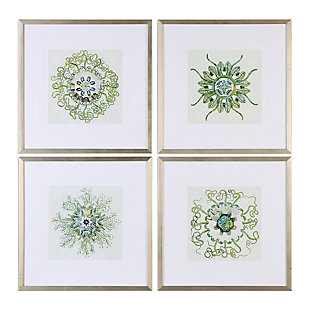 Uttermost Organic Symbols Print Art Set of 4, , large