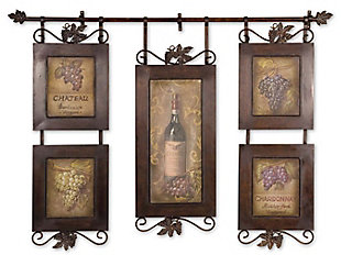 Uttermost Hanging Wine Framed Art, , large
