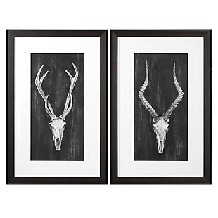 Uttermost Rustic European Mounts Prints Set of 2, , large