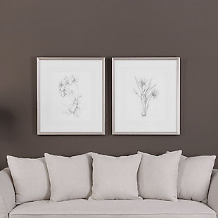 Uttermost Botanical Sketches Framed Prints Set of 2, , rollover