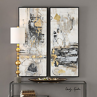 Uttermost Life Scenes Abstract Art Set of 2, , rollover