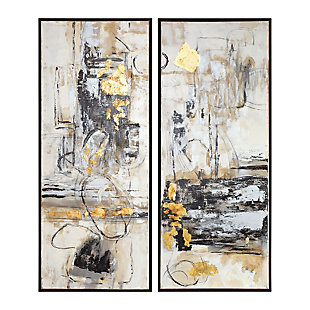 Uttermost Life Scenes Abstract Art Set of 2, , large