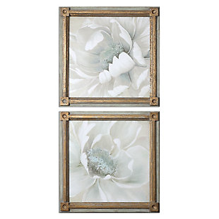 Uttermost Winter Blooms Floral Art Set of 2, , large