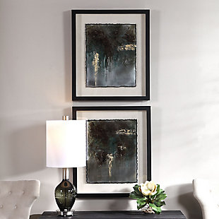 Uttermost Rustic Patina Framed Prints, Set of 2, , rollover