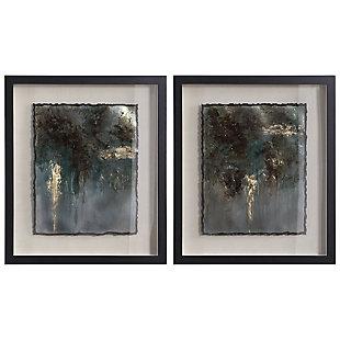 Uttermost Rustic Patina Framed Prints, Set of 2, , large