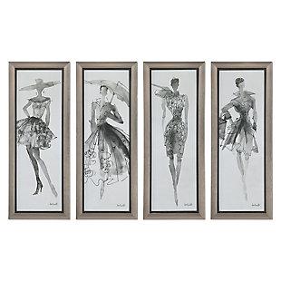 Uttermost Fashion Sketchbook Art, Set of 4, , large