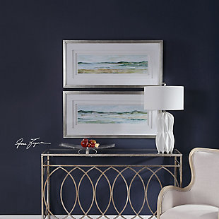 Uttermost Panoramic Seascape Framed Prints Set of 2, , rollover