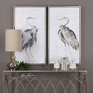 Uttermost Summer Birds Framed Art Set of 2, , rollover