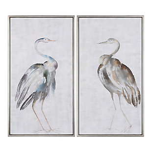 Uttermost Summer Birds Framed Art Set of 2, , large